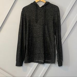 bp heather gray soft hatchi hoodie warm relaxed